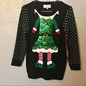Elf Sweater by Poof Girl